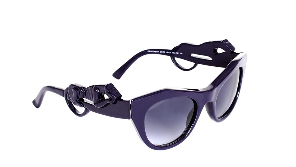 694f7aae22cf Givenchy Purple Panther Cat Eye Retail Sunglasses - Tradesy