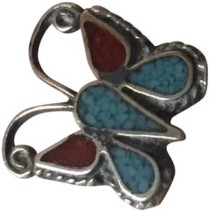 Other Southwestern Vintage Turquoise and Sterling Silver ring