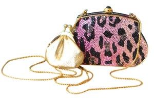Judith Leiber Evening Pink Clutch