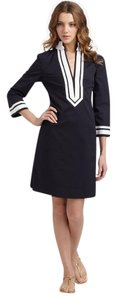 Tory Burch short dress Blue Dvf Isabel Marant Lela Rose Haute Hippie Tibi on Tradesy