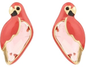 Kate Spade NEW Kate Spade New York Out of Office Parrot Studs Earrings 12k