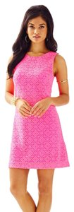 Lilly Pulitzer short dress Pink Shift on Tradesy