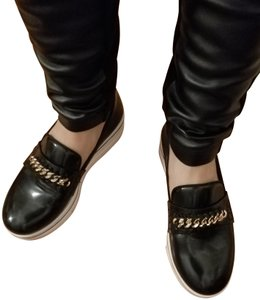 Stella McCartney Binx Loafer Black Platforms