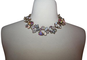 J.Crew J.CREW MIXED CRYSTAL NECKLACE WHITE E6458