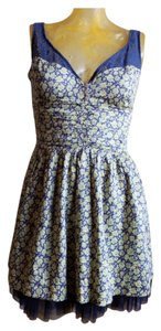 Free People short dress Floral on Tradesy