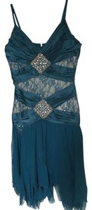 Mandalay Embellished Sequin Beaded Lace Evening Dress