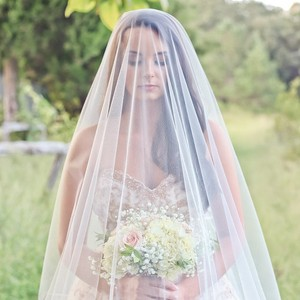 6ft Long Soft Drop Veil