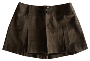 Guess Mini Skirt Brown