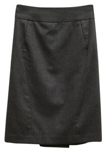 Rag & Bone Wool Pencil Suit Work Skirt Gray