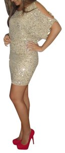 Aidan Mattox Sequin Evening Night Out Dress