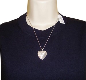 new sterling silver heart pedant necklace