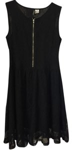 Divided by H&M Lace Zipper Cocktail Skater Dress