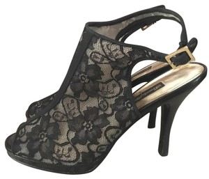 Beverly Feldman Black Platforms