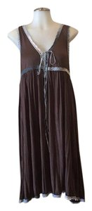 Free People short dress Brown & Blue on Tradesy