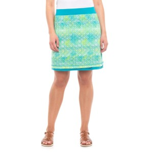 ExOfficio Skirt Green/Blue