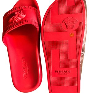 Versace Red Sandals
