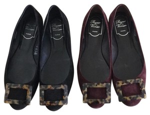 Roger Vivier Dark purple Flats