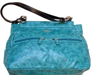 MICHE Magnetic Interchangeable Shell Prima Satchel in blue