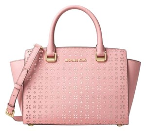 Michael Kors Satchel in Blossom/Gold