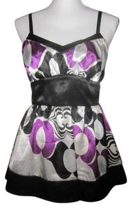 Rampage Top Black/White/Purple