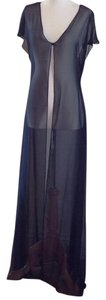 A.B.S. by Allen Schwartz Sheer Flowy Polyester Dryclean Only Dress