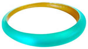 Alexis Bittar Turquoise Lucite Tapered Bangle Bracelet