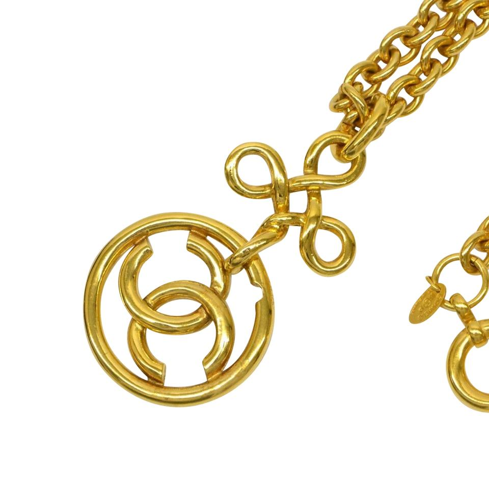 Chanel gold limited edition cc monogram made in france necklace chanel gold limited edition cc monogram made in france necklace tradesy aloadofball Gallery