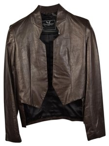 Unconditional Concrete Leather Large Brown Leather Jacket