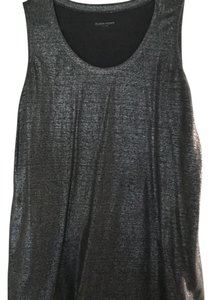 Eileen Fisher Linen Top Silver/gray