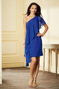 Alfred Angelo Navy 7295s Dress