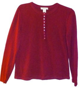Chaus Acrylic Buttoned Sweater