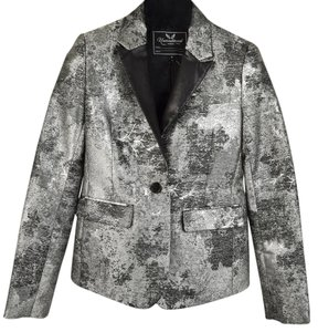 Unconditional Concrete Jacket Small Gray Blazer