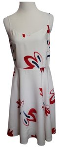 White Red Blue Maxi Dress by Old Navy