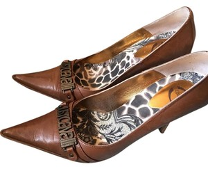 Just Cavalli Brown Pumps