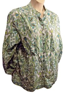 99c8de5198213 Charter Club Plus Size Casual Cotton Paisley Tunic