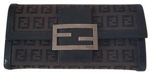 Fendi Fendi Zucca Canvas Continental Wallet 2886- 8M0021/016