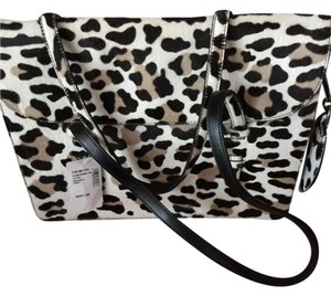 ALAÏA Ponyhair Givenchy Tote in Exotic Leopard black