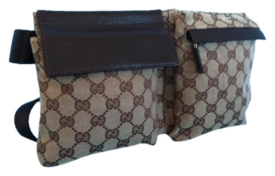 7a320a8243aba Gucci Family Pack Monogram Made In Italy Belt Fanny Pack Cross Body Bag  Image 0 ...