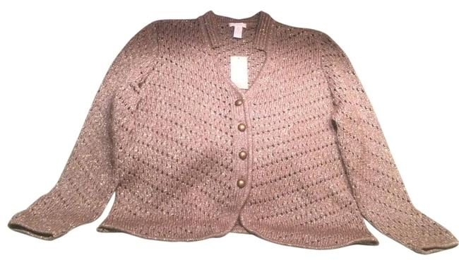 Preload https://img-static.tradesy.com/item/19347145/chico-s-light-brown-and-gold-sweater-0-2-650-650.jpg