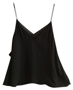 Trafaluc Top Black & Sheer Black