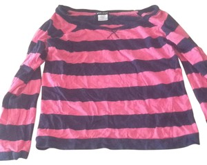 Wet Seal T Shirt Pink and navy