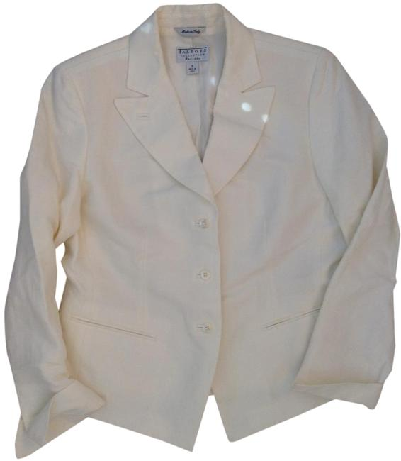 Item - White Made In Italy Collection Petites Jacket Size 10 (M)