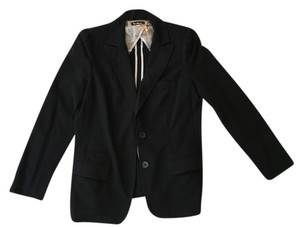 Anthropologie Suit Jacket Black Blazer