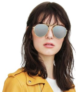c7dbe373768a Gold Gentle Monster Sunglasses - Up to 70% off at Tradesy