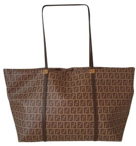 Fendi Tote in tan and brown