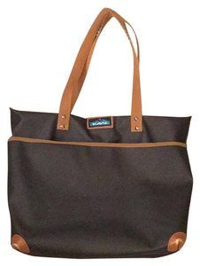 Kavu Tote in Black/brown