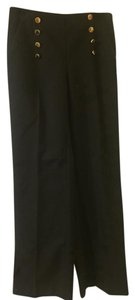 Vince Camuto Sailor High-waisted Dress Trouser Pants Black