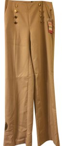 Vince Camuto Sailor Pant Pant Wide Leg Pants Camel / Tan