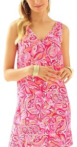 Lilly Pulitzer short dress Pink Pout Mango Salsa on Tradesy