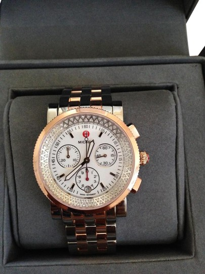 Preload https://item1.tradesy.com/images/michele-rose-gold-silver-diamond-sport-sail-two-tone-watch-19348070-0-7.jpg?width=440&height=440